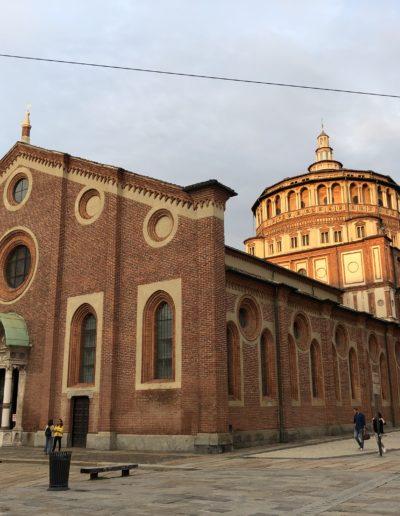 MILAN GUIDE TOURS - SANTA MARIA DELLE GRAZIE CHURCH