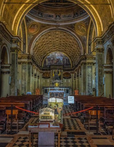 MILAN GUIDE TOURS - SAN SATIRO CHAPEL - Bramante painting