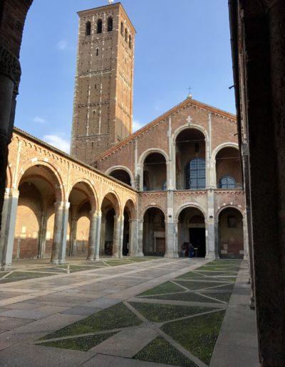 Milan Guide Tours - Saint Ambrose Basilica