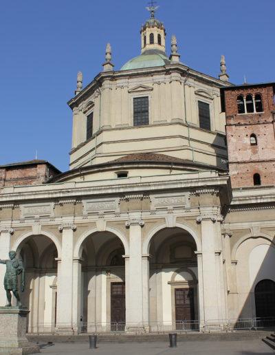 MILAN GUIDE TOURS - SAINT LAWRENCE CHURCE